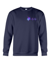 Turtle Flag USA 2 Sides Crewneck Sweatshirt thumbnail