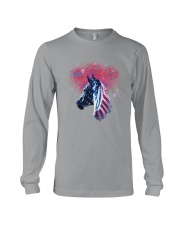 Horse Happy Independent Day Long Sleeve Tee thumbnail