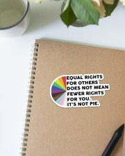 STICKER-LGBT - Its Not Pie Sticker - Single (Horizontal) aos-sticker-single-horizontal-lifestyle-front-14