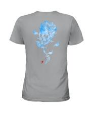 Diabetes - Sk Hope For A Cure 2 Sides Ladies T-Shirt tile