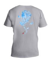 Diabetes - Sk Hope For A Cure 2 Sides V-Neck T-Shirt tile
