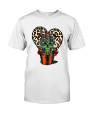 Skull Cactus Leopard Love Classic T-Shirt tile