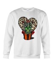 Skull Cactus Leopard Love Crewneck Sweatshirt thumbnail