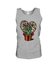 Skull Cactus Leopard Love Unisex Tank thumbnail
