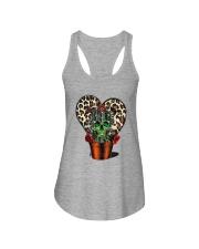 Skull Cactus Leopard Love Ladies Flowy Tank thumbnail