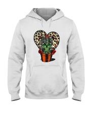 Skull Cactus Leopard Love Hooded Sweatshirt thumbnail