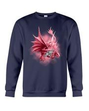 Nurse-Strong Like A Dragon Crewneck Sweatshirt tile