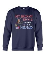 Mermaid My Broom Broke Crewneck Sweatshirt thumbnail
