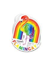 Sticker LGBT Flamingay Sticker - 10 pack (Vertical) front