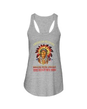 Native American History Ladies Flowy Tank thumbnail