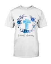 Diabetes Your Faith Bigger Than Classic T-Shirt front