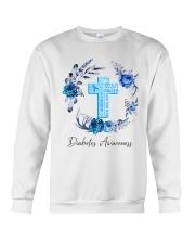 Diabetes Your Faith Bigger Than Crewneck Sweatshirt tile