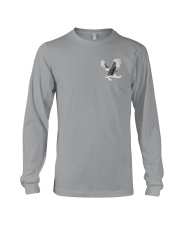 Lung Cancer Be Stronger 2 Sides Long Sleeve Tee tile