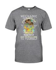 Skull Mechanic Classic T-Shirt tile