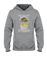 Skull Mechanic Hooded Sweatshirt thumbnail