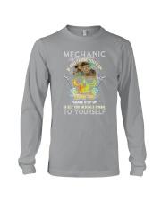Skull Mechanic Long Sleeve Tee thumbnail