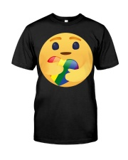 Lgbt Emoji  Classic T-Shirt front