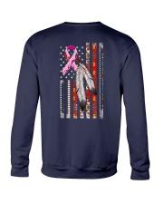 Breast Cancer Native 2 Sides Crewneck Sweatshirt tile