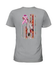 Breast Cancer Native 2 Sides Ladies T-Shirt tile