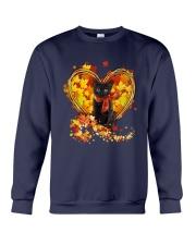 Autumn Cat Heart Crewneck Sweatshirt tile