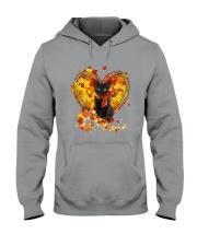 Autumn Cat Heart Hooded Sweatshirt tile