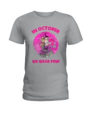 BC Mermaid In October Ladies T-Shirt tile