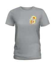 Jesus 2 Sides Ladies T-Shirt thumbnail