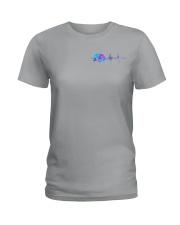 Camping Flag 2 Sides Ladies T-Shirt thumbnail