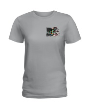 Autism - Birds Of A Feather 2 Sides Ladies T-Shirt thumbnail