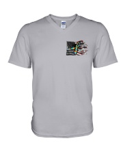 Autism - Birds Of A Feather 2 Sides V-Neck T-Shirt thumbnail