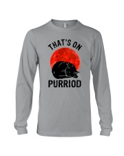 Thats On Purriod Long Sleeve Tee thumbnail