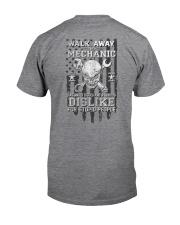 Skull Mechanic - Dislike For Stupid People 2 Sides Classic T-Shirt tile