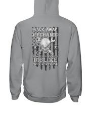 Skull Mechanic - Dislike For Stupid People 2 Sides Hooded Sweatshirt tile