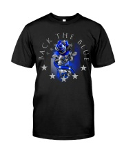 Back The Blue Rose Classic T-Shirt front