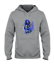 Back The Blue Rose Hooded Sweatshirt tile