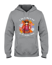 Hippie - I like to stay in bed Hooded Sweatshirt thumbnail