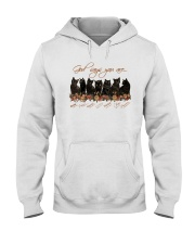 Cat - God Says You Are Hooded Sweatshirt thumbnail