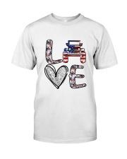Jp Love America Classic T-Shirt front