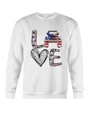 Jp Love America Crewneck Sweatshirt thumbnail