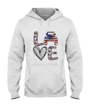 Jp Love America Hooded Sweatshirt thumbnail