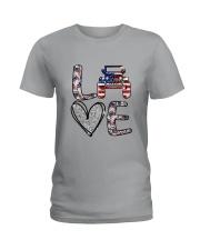 Jp Love America Ladies T-Shirt thumbnail