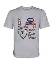 Jp Love America V-Neck T-Shirt thumbnail
