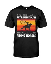 Horse Riding Classic T-Shirt front