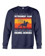 Horse Riding Crewneck Sweatshirt thumbnail