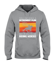 Horse Riding Hooded Sweatshirt thumbnail