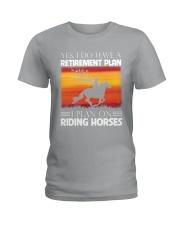 Horse Riding Ladies T-Shirt thumbnail