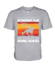 Horse Riding V-Neck T-Shirt thumbnail