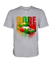 Unapologetically Dope V-Neck T-Shirt thumbnail