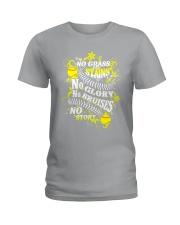 Softball No Glass Stains  Ladies T-Shirt thumbnail