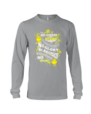 Softball No Glass Stains  Long Sleeve Tee thumbnail